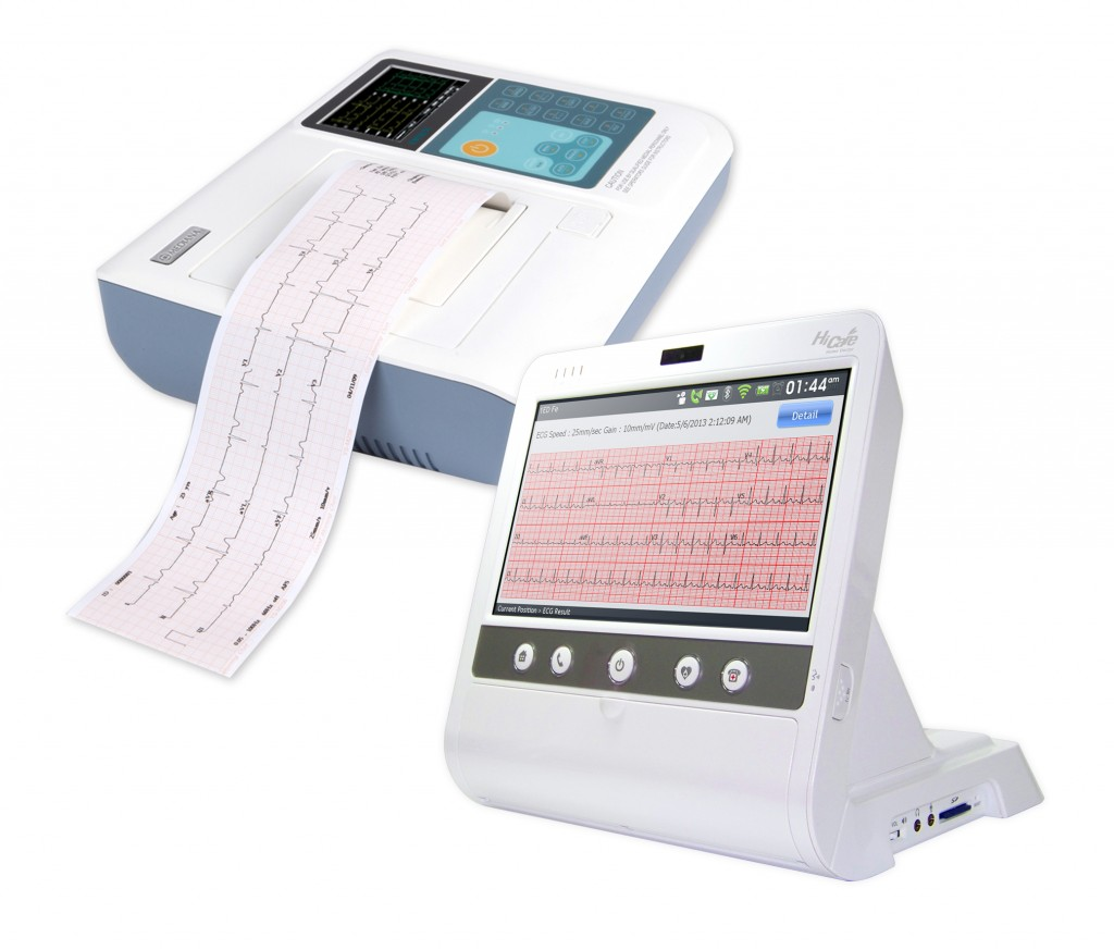 Hicare update for connecting with ecg analyzer